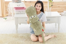 big plush high quality hippo toy cartoon green lovely hippo doll gift about 120cm