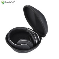 Portable Headphone Case Carry Pouch For Sony V55 NC6 NC7 NC8 Data Line Storage Bag Headset