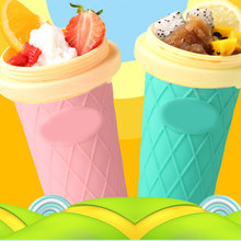 Get more info on the Double Layer Ice Cream Maker DIY Homemade Fast Cooling Ice Cream Smoothie Cup HYD88