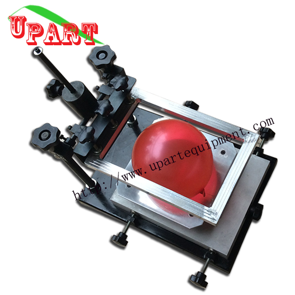 hot sale small balloon printing machine latex ballooon screen printing machine