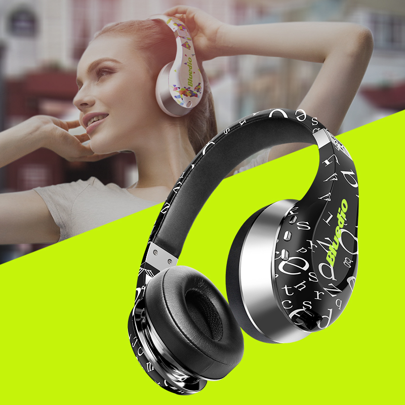 2017 Rushed Earphones Original Bluedio A Air New Model Bluetooth Headphones wireless Headset Fashionable Headphones for