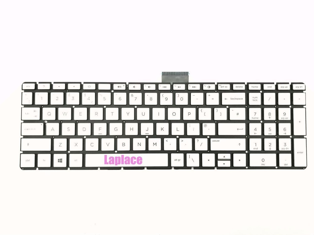 New UK silver keyboard for HP Pavilion 15 cc028na 15