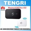 Original desbloqueado huawei e5573 e5573cs-322 150 mbps 4g dongle modem lte bolso roteador wi-fi hotspot móvel