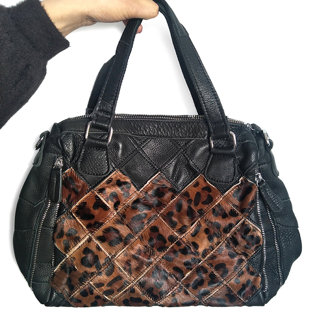 61eeef11b56d05 Designer handtaschen hohe qualität frauen messenger taschen aus echtem leder  leopard print tasche hobos frauen crossbody