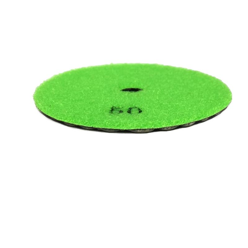 RIJILEI 7 pezzi / lottp 4 pollici / 100mm Pastiglie per lucidatura a - Utensili elettrici - Fotografia 2