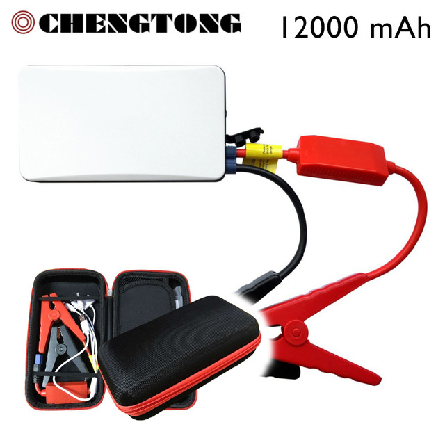 Car Jump Starter Discount 12000mAh Mini Emergency Charger Battery Booster Power Bank Min Jump Starter for Car Mobile Pad CS009WH