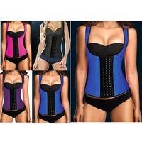 Commercio all'ingrosso plus size corsetto vita lattice ann chery allenatore corsetto cincher underbust dello shaper del corpo del ricamo bustier