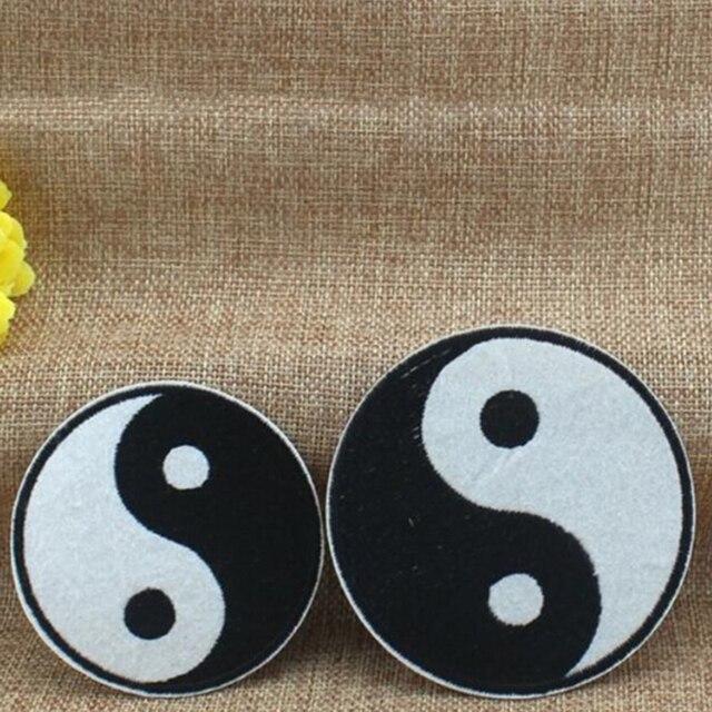 Feng Shui Kleidung chinesischen taoismus symbol applique ying yang klassische