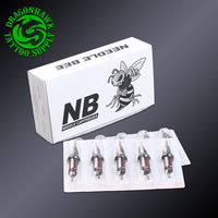 Sterile Tattoo Needles For Rotary Pen Disposable Liner Shader Needles 20pcs One Box Supplies