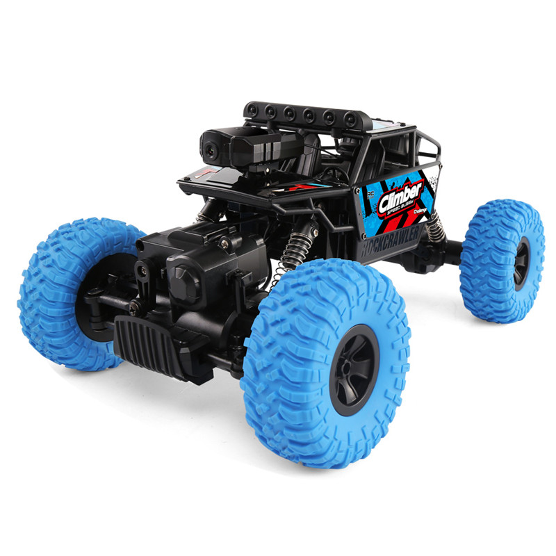 все цены на JJRC Q45 Drive Climbing Car Remote Control 2.4G 1:18 4WD RC Climbing Car with Wifi FPV HD Camera Off-Road APP Control RC Car