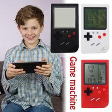 Best Gift Retro Classic Childhood Tetris Handheld Game Players LCD Electronic Games Toys Game Console Riddle Educational Toys