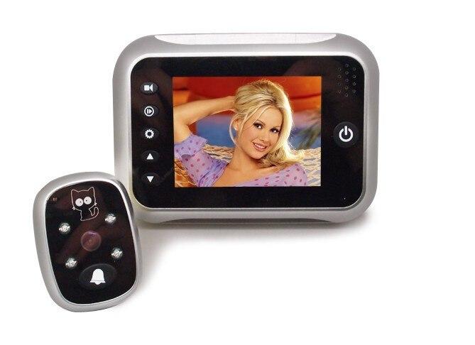 ФОТО Free Shipping  3.5 Inch LCD Screen Digital Peephole Viewer ,Video Door Phone ,Doorbell