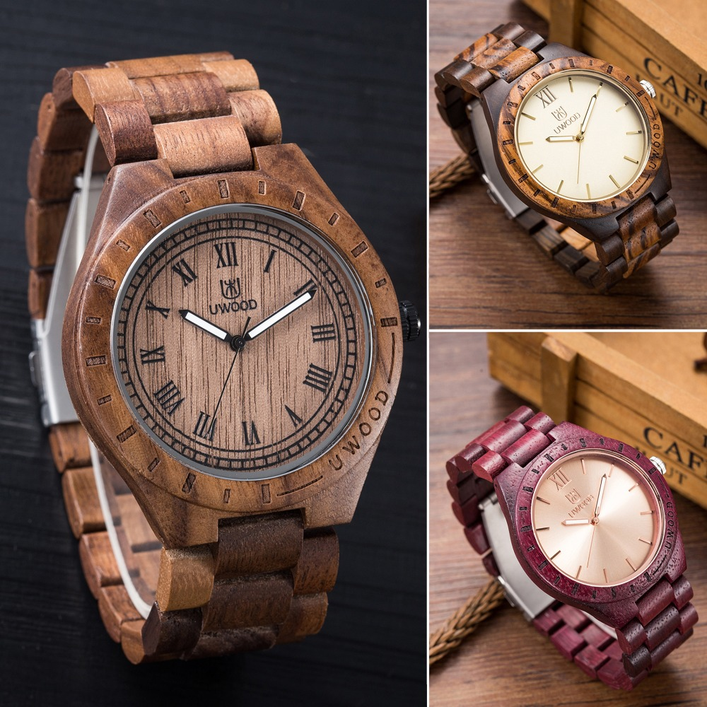 Брендовые новые кварцевые часы орех деревянные наручные часы Для мужчин аналоговый Унисекс Роскошные Деревянные Часы Для мужчин Для женщи...