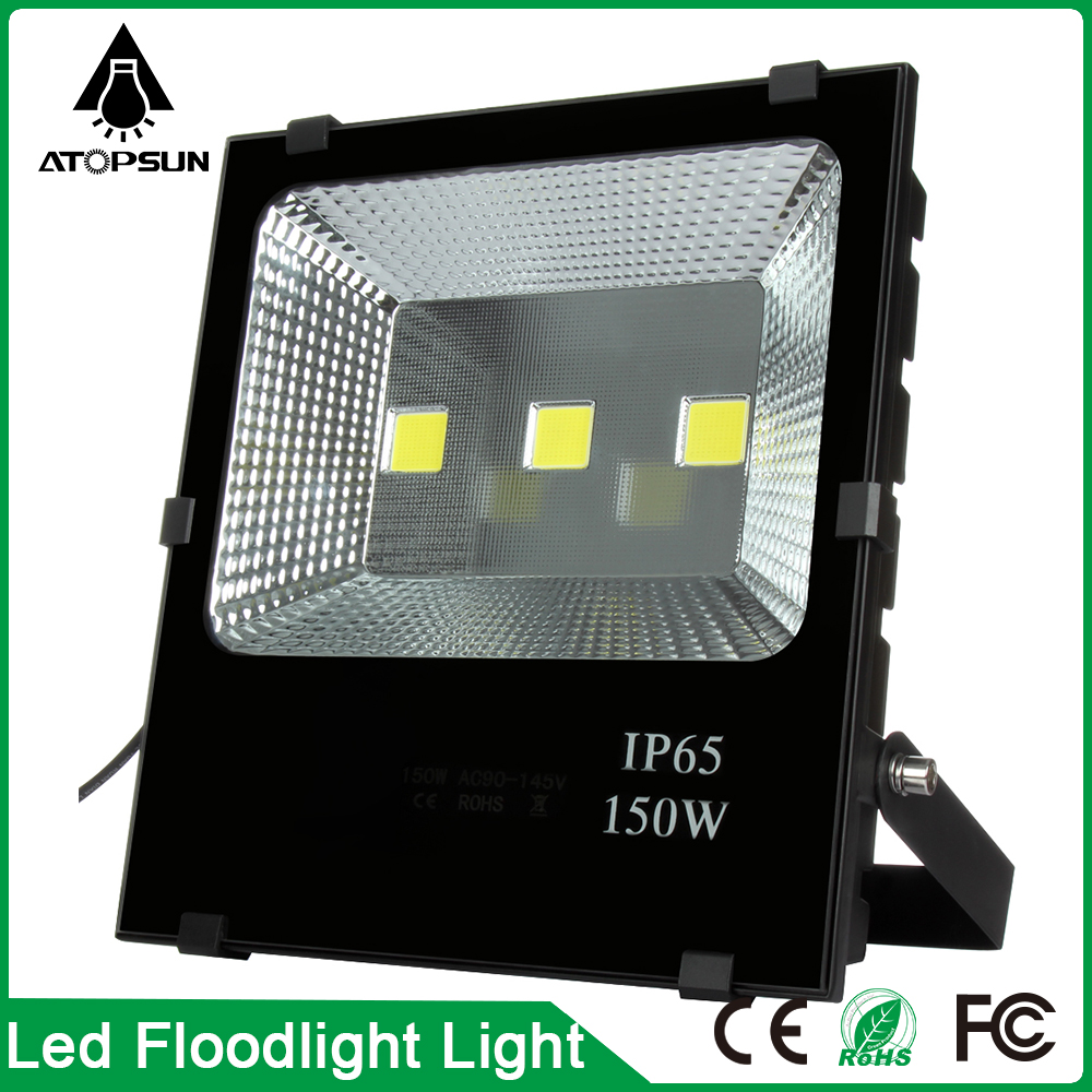 1pcs 150W Led Flood Light AC85-265V Led Outdoor Lighting Floodlights Lamp Warm/Cold White Led Reflector Lamp refletor de led 30% off 2pcs ultrathin led flood light 50w black ac85 265v waterproof ip66 floodlight spotlight outdoor lighting free shipping