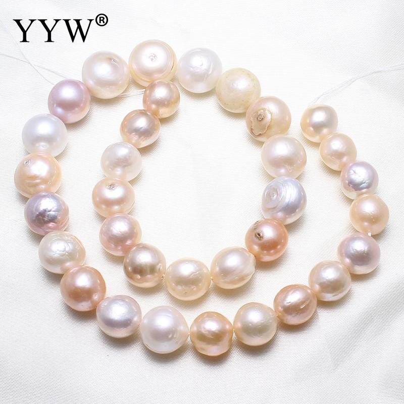 High Quality Natural Freshwater Pearl Beads 12-16mm Baroque Pearl Beads For DIY Necklace Bracelat Jewelry Making недорго, оригинальная цена
