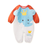 Ciepłe Niemowlę Romper Boys Baby Dziewczyny Kombinezon 7-18 Miesięcy Dziecko Ubrania Bawełniane Ubrania Dla Dzieci Cute Zwierząt Romper Dziecka kostiumy