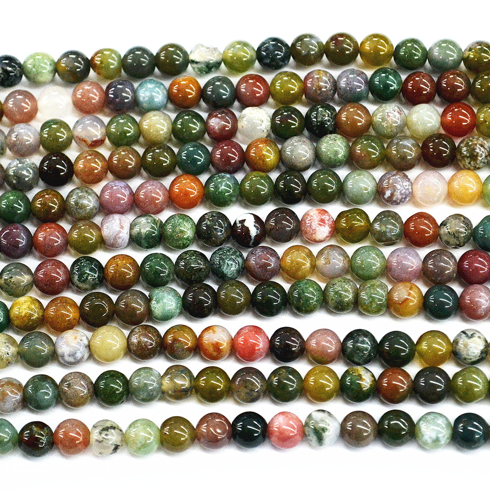 "15 /""ONYX Perles naturelles en pierres naturelles italiennes en pierre 6mm 1"