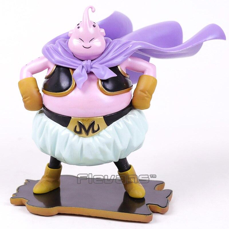 Anime Dragon Ball Z Majin Boo Pastel Color ver. PVC Figure Collectible Model Toy (face can change)14.5cm anime cartoon totoro no face reading pvc figure collectible model toy christmas birthday gift 18cm