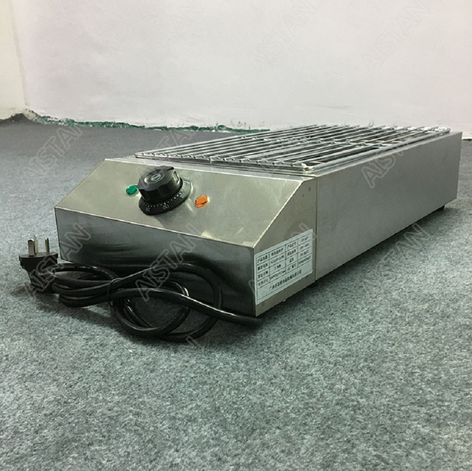 EB280 Electric Smokeless Barbecue Oven Grill for bbq machinery Stainless Steel High Power 20