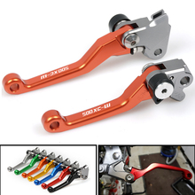 CNC Pivot dirt Bike Brake Clutch Lever Handle For KTM 500XC-W 500 XCW 2012 2013