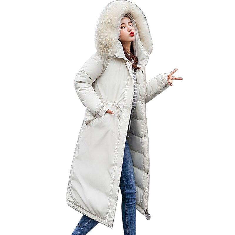 Plus la Taille Hiver Veste Femmes De Fourrure À Capuchon Parkas 2018 Mince Femelle Manteaux Veste D'hiver Femmes Manteaux Coton Rembourré mode Vestes