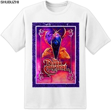 9f20adc07 THE DARK CRYSTAL RETRO MOVIE T SHIRT Jim Henson Labyrinth Poster Classic  Mens Cool Casual pride