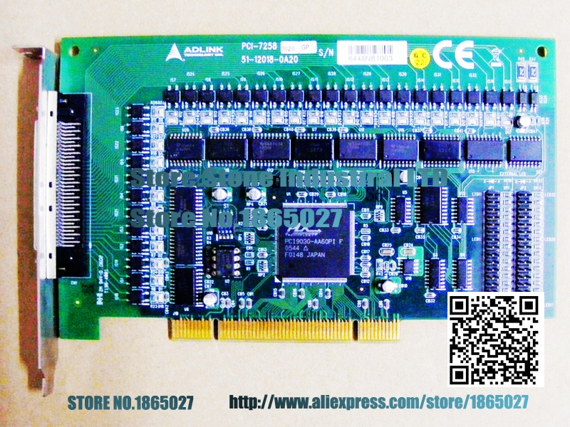 PCI-7258 digital I / O card data acquisition card PCI-7258 100% test good quality