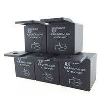 цена на 5 pcs 4 PIN High Power Car Relay 24v 80A ON-OFF TRUCK RELAY