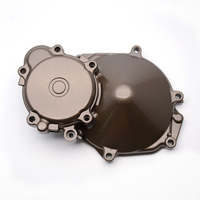 Motorcycle Aluminum Engine Stator Crankcase Cover For Kawasaki ZX10R 2004 2005