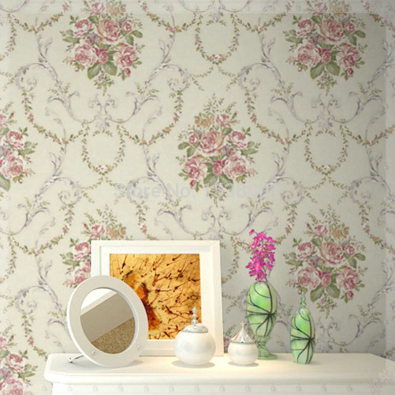 Vintage romantic victorian rose flower floral scroll - Luz led cocina ...