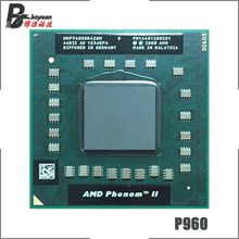 AMD Phenom II Quad Core נייד P960 1.8 GHz Quad Core Quad חוט מעבד מעבד HMP960SGR42GM שקע s1