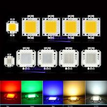 Светодиодный светильник высокой мощности 10 Вт 20 Вт 30 Вт 50 Вт 100 Вт, светодиодный светильник COB с чипами для прожекторного светильника, Светод...