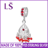 LS Fashion 2017 Christmas Decoration Charms Beads fit Original Bracelets 925 Sterling Silver Jewelry Making