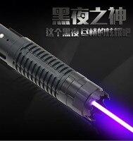 JSHFEI Bleu Noble Laser Pointeur lumière Stylo 445nm-450nm Faisceau Match Cigarette Allumée 5 pcs Étoiles Cap Réglable EN GROS LAZER