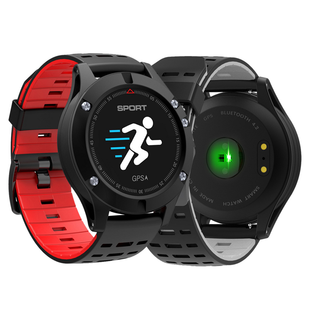 GPS Smart watch Men Heart Rate Pulse Altimeter Thermometer Bluetooth Sport Bracelet Waterproof Women Smartwatch for Android Ios areyourshop sale 10 pc adapter uhf female jack to n plug male connector right angle f m minijack pl