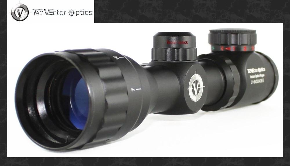 ୧ʕ ʔ୨vector optik rogue 2 6x32 aoe compact gun riflescope dengan