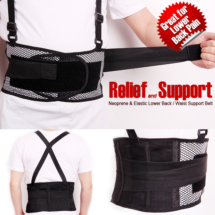 2014 Beliebte atmungsaktive Taillenbandage Linderung Rückenschmerzen - Sportbekleidung und Accessoires - Foto 2