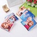 Das mulheres sacos de pelúcia princesa Elsa Anna meninas crianças bolsa de moedas titular do cartão carteira / Case Bag crianças festa de natal presente de aniversário