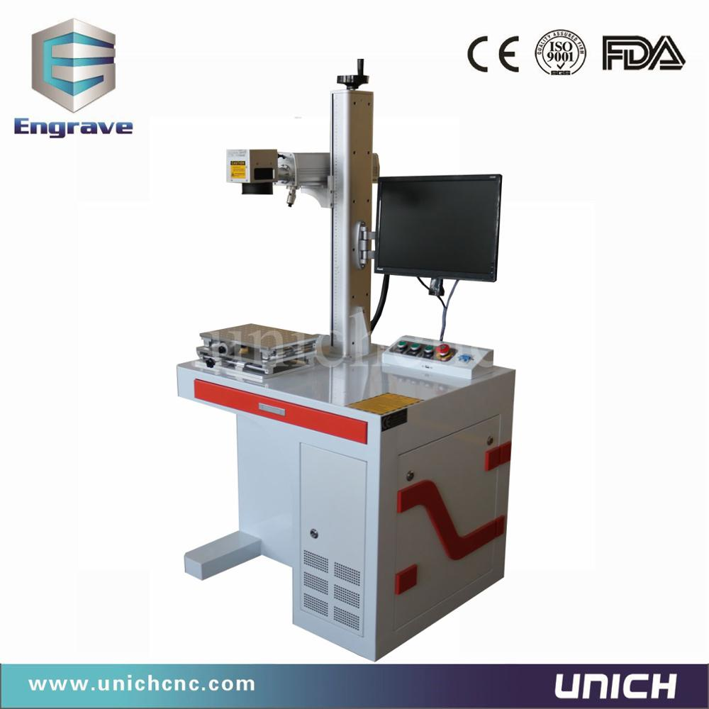 Prix des Agents laser de bureau graver la machine en acier inoxydable marquage