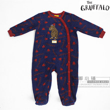 free shipping gruffalo TU Child fleece sleepware Baby OnePiece kids Romper boys jumpsuits Blanket Sleepers