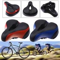 블랙, 레드, 블루 자전거 안장 좌석