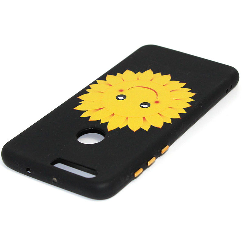3D Relief flower silicone case huawei honor 8 (14)