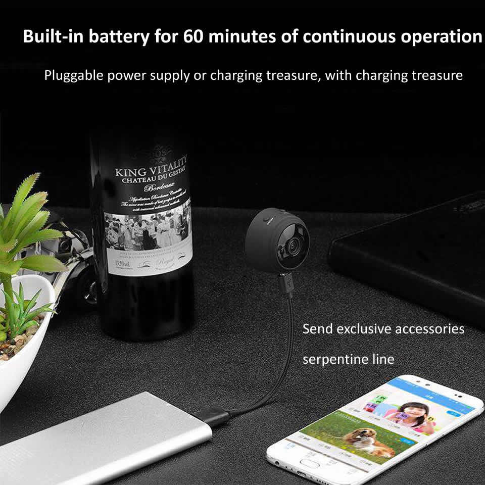 A9 Мини WiFi камера беспроводная IP камера 1080P HD микро камеры с датчиком движения ночное видение камеры безопасности домашний монитор