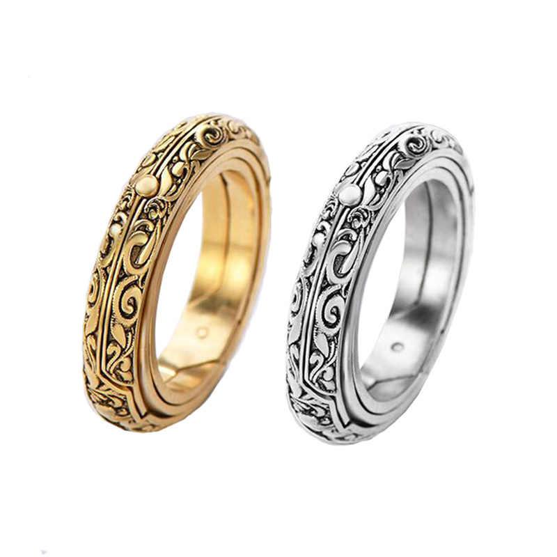 RJ Vintage Dropshipping. Exclusivo. Amante astronómico bola anillos de concha anillo universo estudiante anillo de constelación joyería