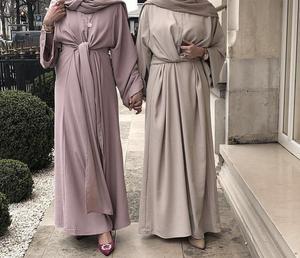 Abaya Dubai Kaftan Turkish Maxi Dress Muslim Women Long Party Gown Ramadan Jilbab Islamic Caftan Arab Robe Fashion Abayas Cloth