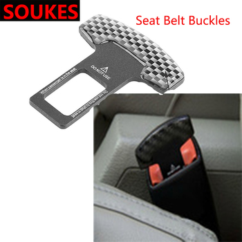 1X Car-Styling Car Safety Belt Clip Seat Belt Buckle Cover For BMW E46 E39 E60 E90 E36 F30 F10 X5 E53 E34 E30 Mini Cooper Lada image