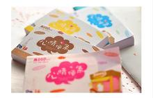 4pcs/lot  Kawaii Mini Notebook Pocket Notepad Mood Planner School Supplies Stationery Hot Sale Free Shipping