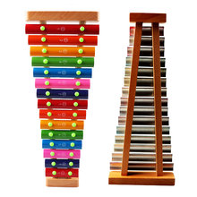 цена на Children's Wooden Music Toy 15 Xylophone Toy Musical Instrument Baby Wood Harp Noise Maker toy Early Education Wood Music Toys