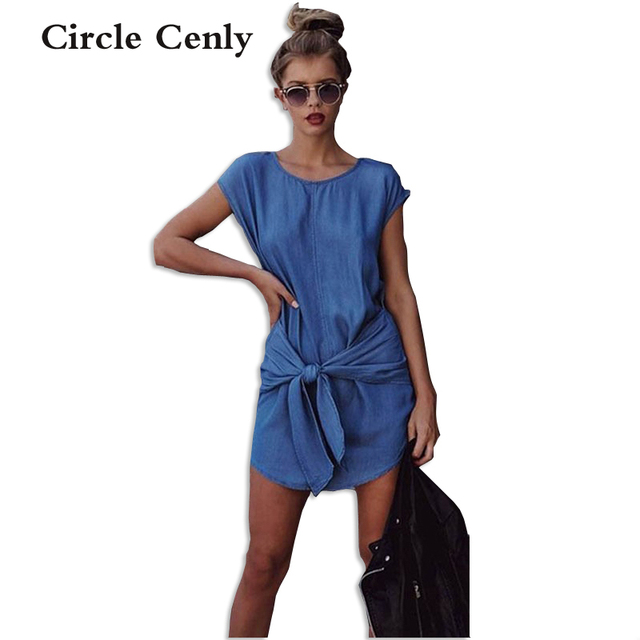 44005646ab4b 2016 vintage Women Frilly Elegant Jeans Dress off the shoulder Casual Blue  short Women' s Summer Beach Party Denim Dresses
