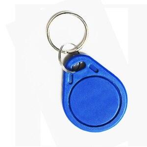 Image 2 - 5 pièces 125khz RFID porte clés autocollants carte Tag clé ID porte clés EM4100 porte entrée contrôle daccès EM porte clés jeton